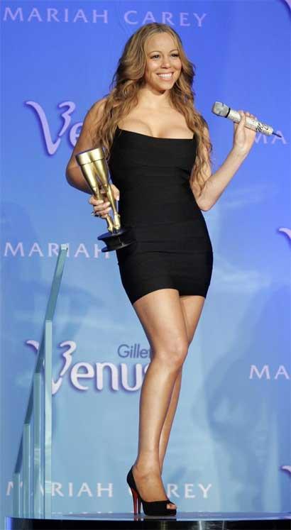Mariah Carey's $1 billion legs