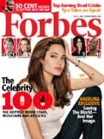Forbes Celebrity 100 Cover