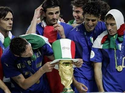 Italy wins World Cup 2006