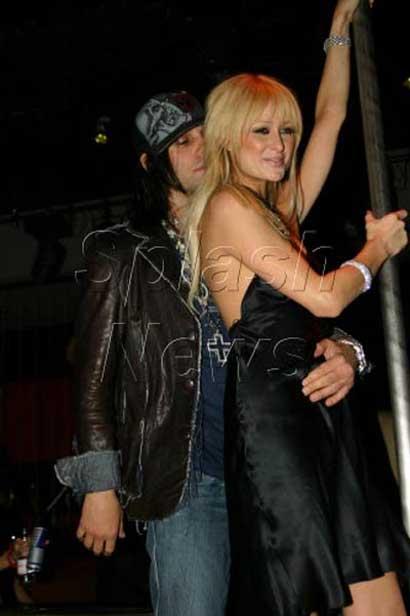 Criss Angel and Paris Hilton
