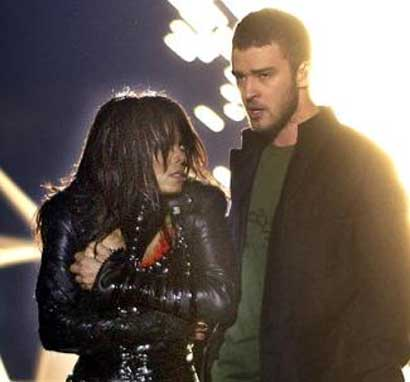 Janet Jackson's Super Bowl flash