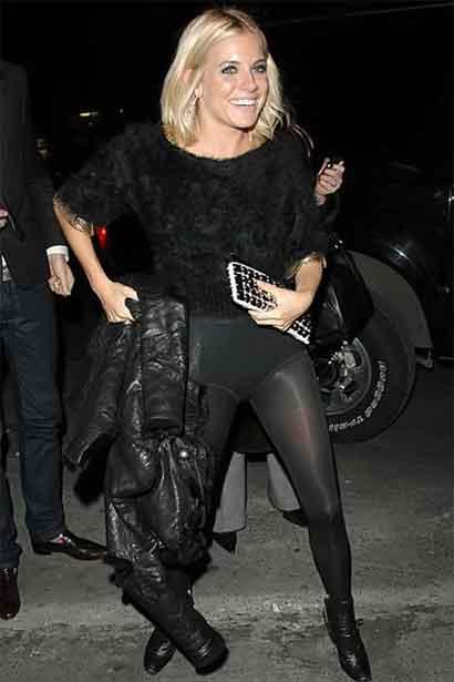Sienna Miller outside pantie