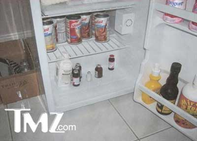 Anna Nicole Smith's fridge