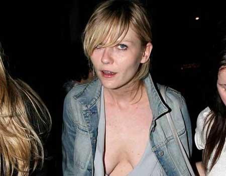 Kirsten Dunst's funny face