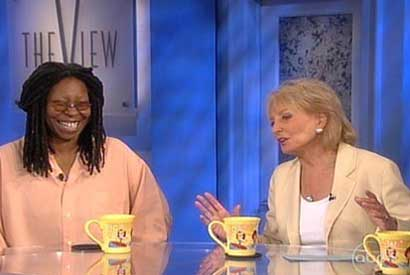 Whoopi Goldberg joins The View
