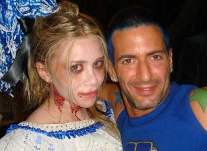 Ashley Olsen and Marc Jacobs at Halloween party