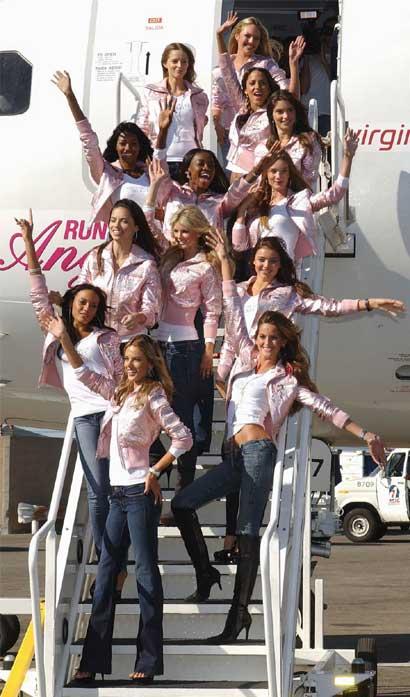 Victoria's Secret Angel landed in L.A.