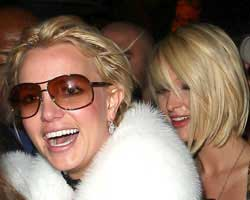 Britney Spears and Paris Hilton together again