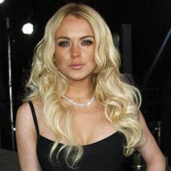 Lindsay Lohan Cloverfield Premiere